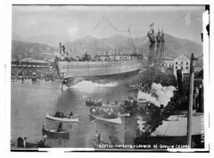 Sestri-Ponente & Launch of Giulio Cesare  (LOC)