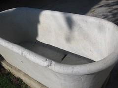 bath at roman ampitheater