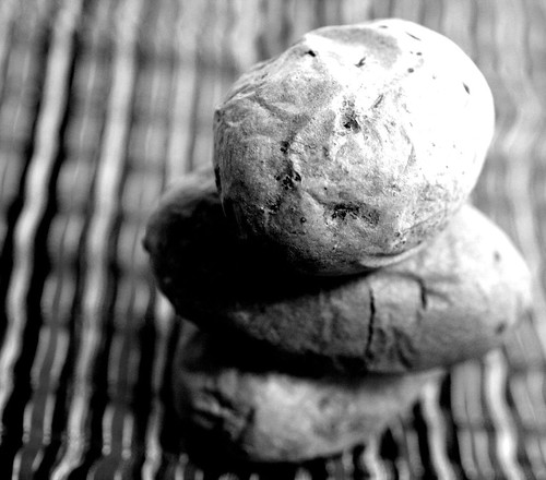 Artsy potato shot