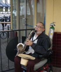 Gaslamp Musician