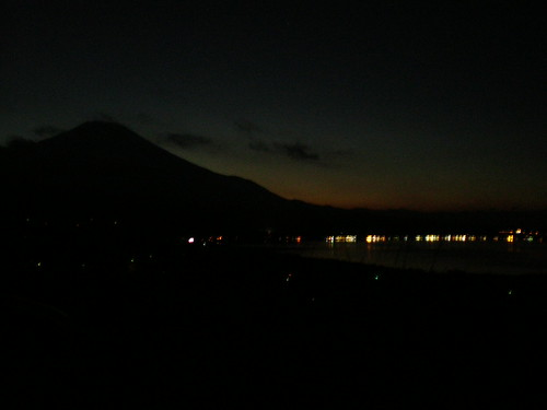 Fujisan at night
