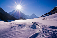 Sun Kisses Mountain, Tyrol