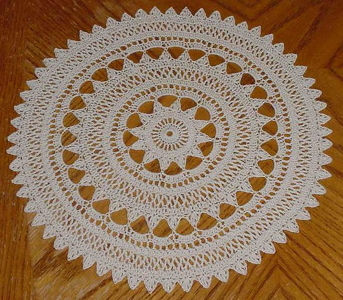 * A crochet doily - you know how I love them!!