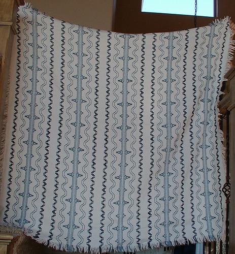 Swedish weave blanket