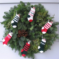stocking wreath