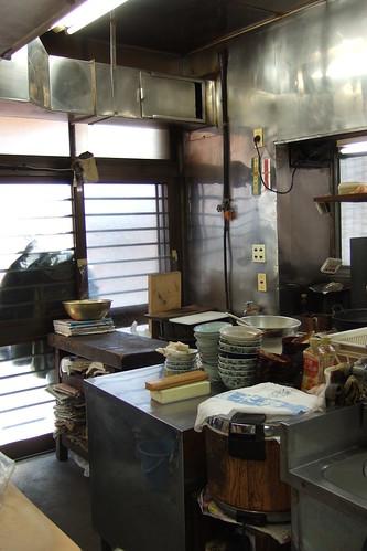 Sumidagawa Honten Kitchen