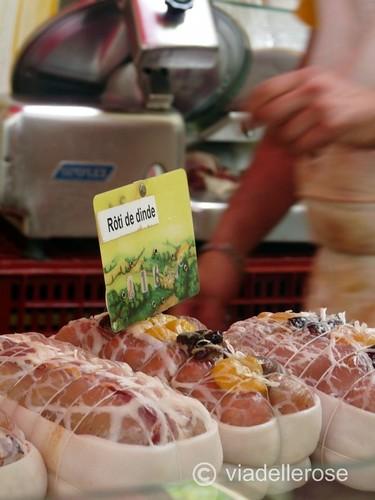 Au marché - boucher