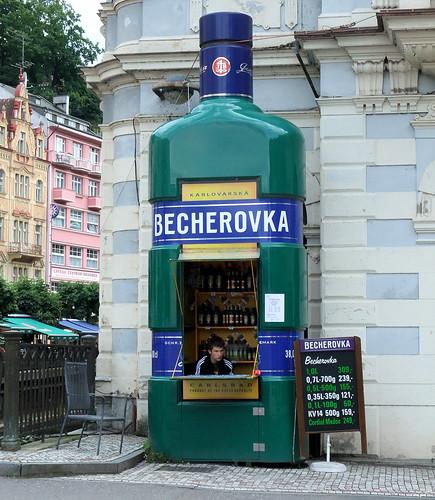 The Becherovka Kiosk