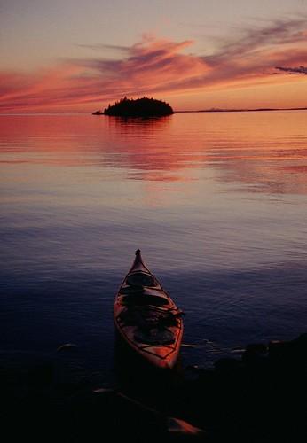 Round Is. sunset