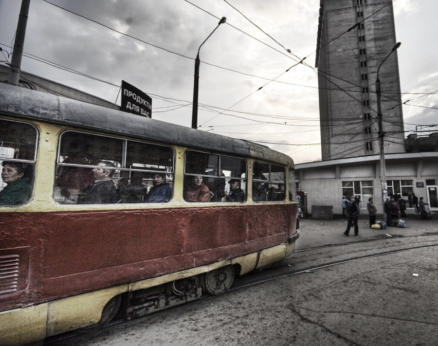 The Old Russian Streetcar (still in operation...)