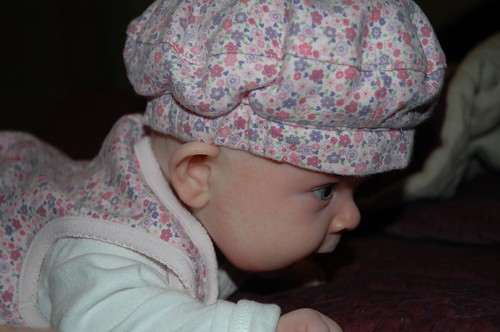 Claire Bear in her Hat