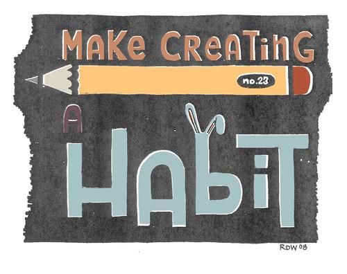 make creating a habit by define23