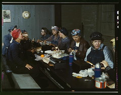 Women workers employed as wipers in the roundh...
