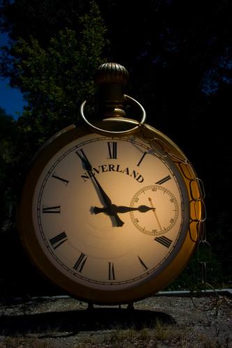 Neverland Station Clock