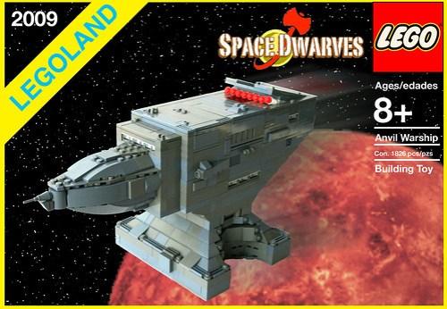 LEGO Spaceship Anvil