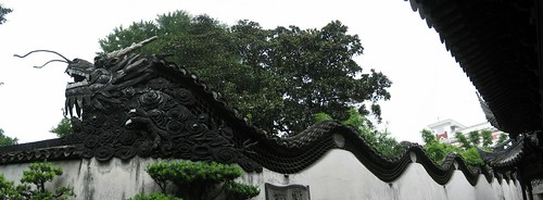 Dragon in Yuyuan Garden
