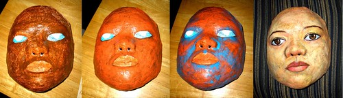Self-P Death Mask: WIP