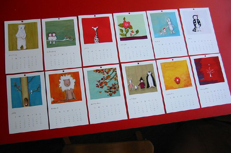 Calendar Round Up 2008: Part One