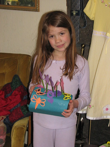 Elizabeth and Easter Basket
