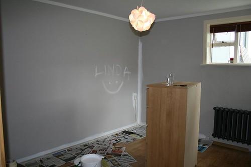 Bedroom before paint