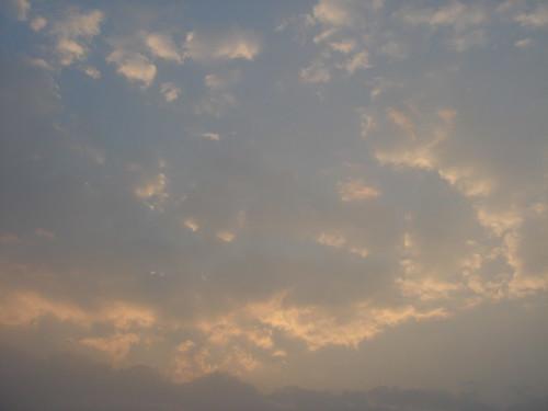 Ganges River1-52日出的恆河天空