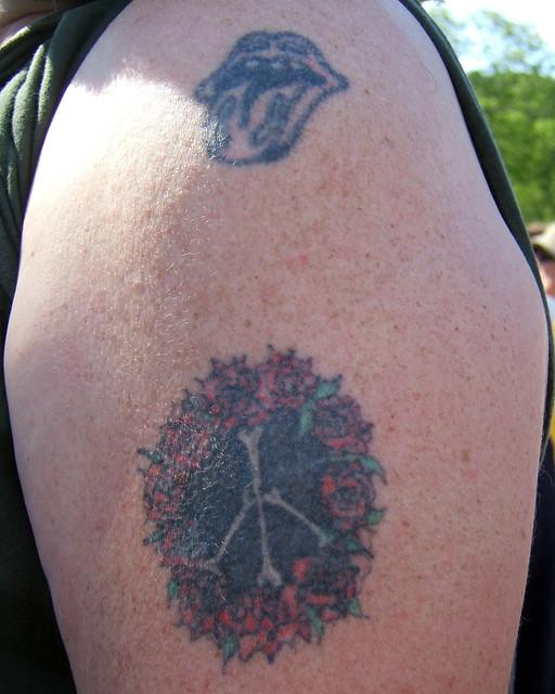 """Bones"" Peace Sign Tattoo. Different."