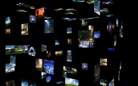 MovingPhotos3D Screensaver
