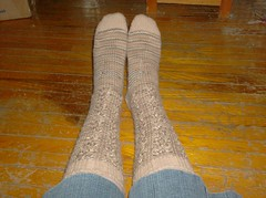 Cafe Latte Socks - complete