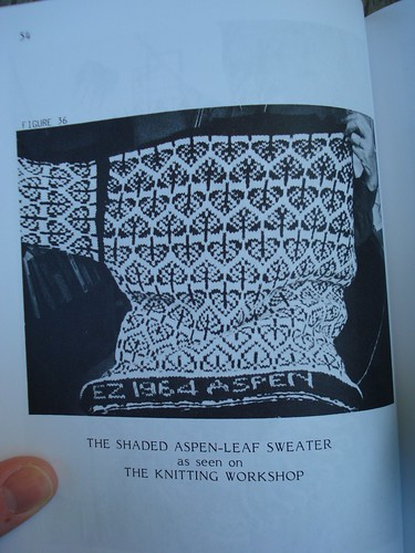 shaded aspen leaf sweater