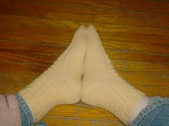 Something's Shady Socks - side view