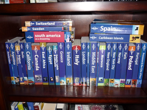 I am a sucker for the Lonely Planet guide books!