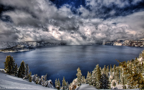 Crater lake OR - HDR