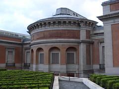Museo del Prado. Trasera edificio Juan de Vill...