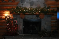 Decorated Cabin
