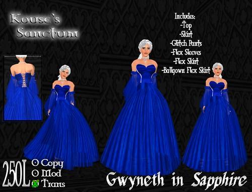 Gwyneth - Sapphire