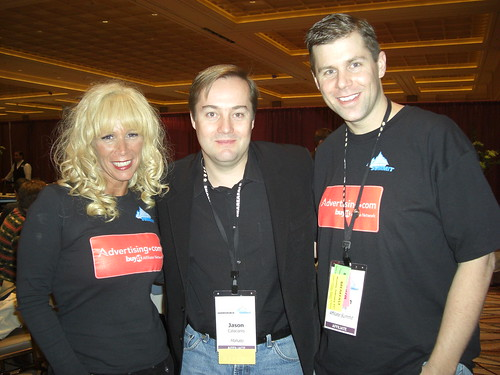 Missy Ward, Jason Calacanis and Shawn Collins
