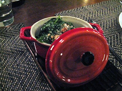 spinach at Joule