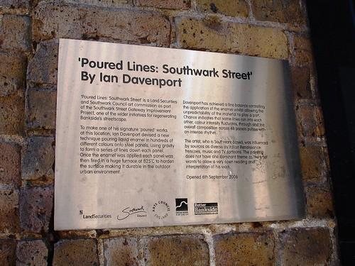 Subway Art, Southwark