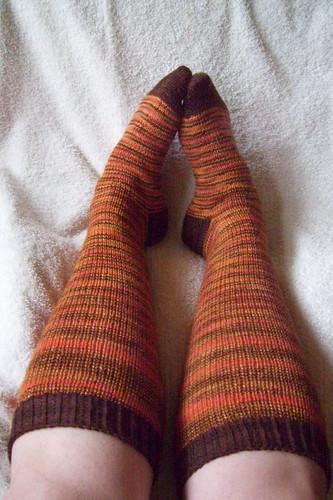 autumn knee-highs