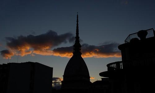 Mole al tramonto