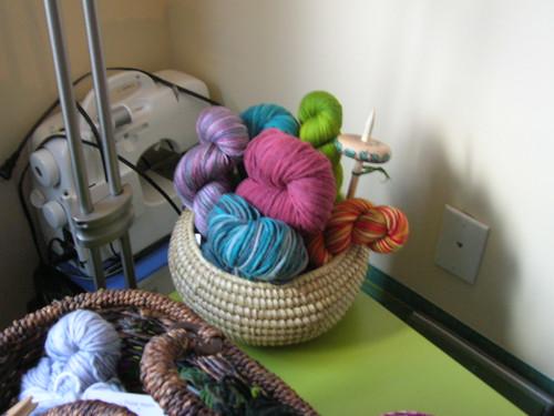 Yarn Centerpiece.