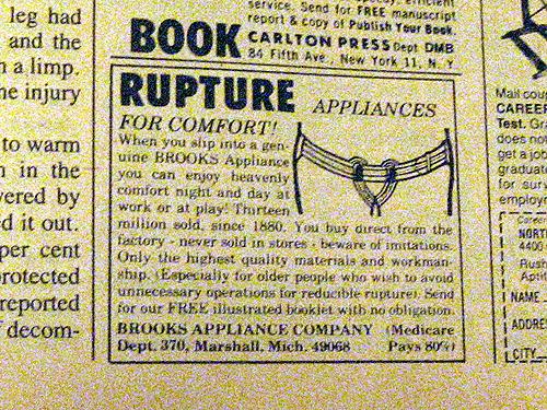 Rupture Appliances For Comfort!