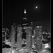 Presidential Towers & Sears Tower - BW
