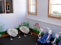 nursery near completion