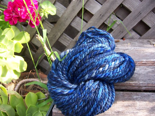 Handdyed/Handspun Blues
