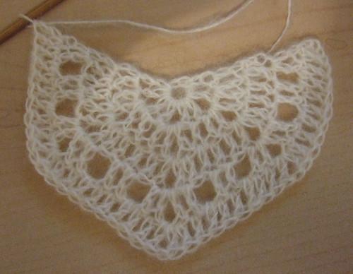 Eva's shawl prototype