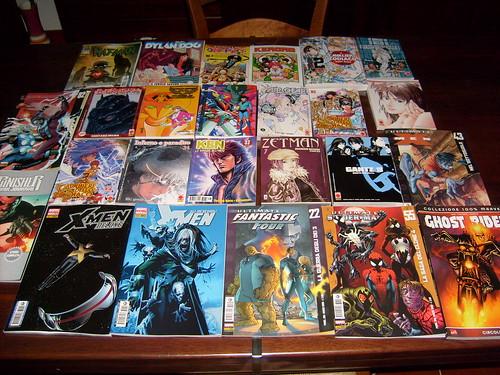 I fumetti che hanno contrassegnato il 2008