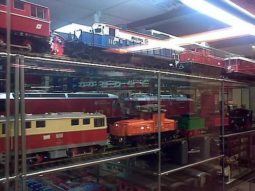 Trainshop at Adelphi