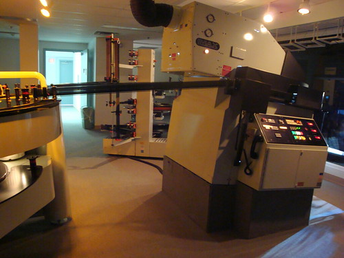 IMAX projection room