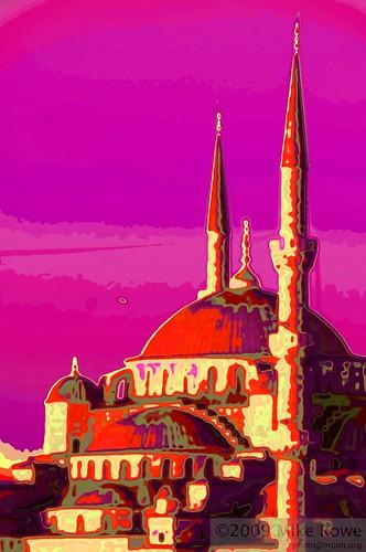 Hagia Sophia in Pink